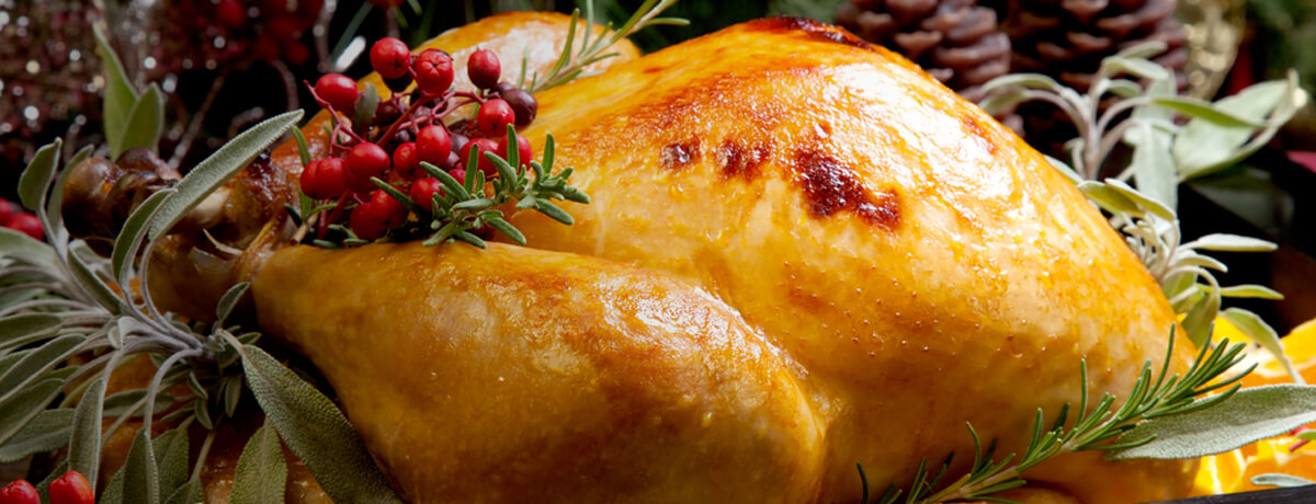 Christmas Turkey from Blagdon Farm Shop